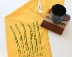Asparagus towel.