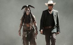 Awesome movie, The Lone Ranger. Johnny Depp and Armie Hammer>>