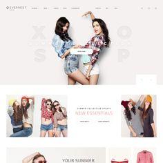 Eveprest - Fashion Boutique Responsive PrestaShop Template