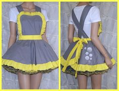 My Little Pony Derpy Hooves Pinafore Apron Costume by mtcoffinz