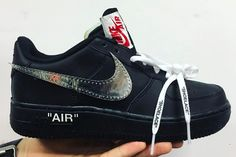 Virgil Abloh Previews OFF-WHITE x Nike Air Force 1 Collab