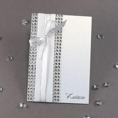 Kimalteleva timanttiverkko on näyttävä materiaali kutsukortteihin. Tarvikkeet ja ideat Sinellistä!