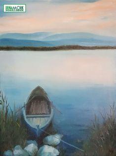 "Oljemaling ""båt og sedge"" | FINN.no 60x80 cm tynn lerret uten ramme   #oilpaint #norge #oljemaling #maling #moldemaling #molde #painting"