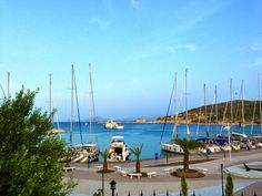Datca Marina on the south of the peninsula.   Datca may be a secret escape for travellers, but also a well known place for sailors since thousands of years...