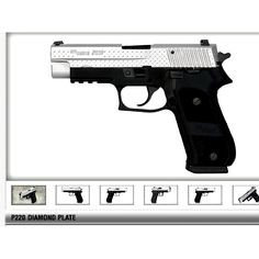 Sig Sauer P220 .45 Diamond Plate edition! Love this gun!