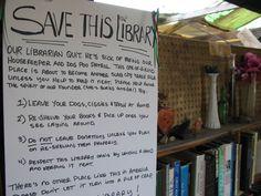 Save the Slab City Library Niland CA