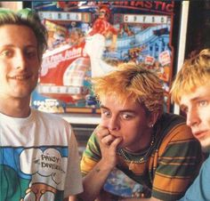 Billie looks nervous, Mike looks unsure and Tre' just looks so cute.