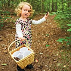 Nature Walk Sorting Basket. Spend some active family time together with your toddler -- enjoying the great outdoors and learning all at once!