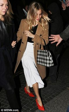 Keeep it classic like Sienna in a camel coat by Rag & Bone Click 'visit' to buy it now #DailyMail