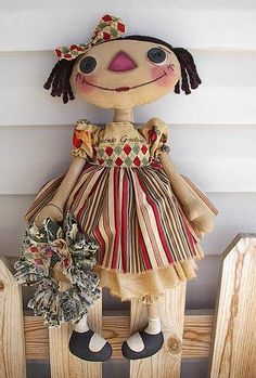 cloth doll in 9 steps
