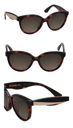 7b7580c63df Dior Envol 3  S LWG Havana Ivory Black Plastic Fashion Sunglasses Brown  Gradient Lens