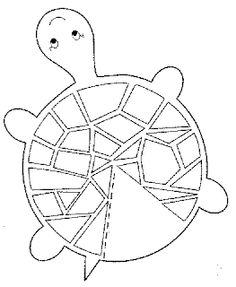 A good idea to use as a button craft? Turtle craft template (site is in Turkish language but it has some great coloring/craft images) Art For Kids, Crafts For Kids, Arts And Crafts, Paper Crafts, Turtle Crafts, Craft Images, Ocean Crafts, Printable Crafts, Printable Paper