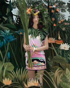 이그조틱한 정글 페이팅 - Get Your Dream, Voguegirl.co.kr