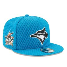 Toronto Blue Jays New Era 2017 Home Run Derby Side Patch 9FIFTY Adjustable Hat - Blue