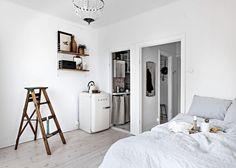 Stylish small studio - COCO LAPINE DESIGNCOCO LAPINE DESIGN