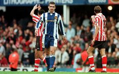 Eric Cantona away at Southampton