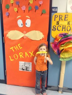 The Lorax Popsicle Stix Mustache | Early Teacher