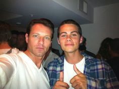 Dylan obrien and uncle Pete