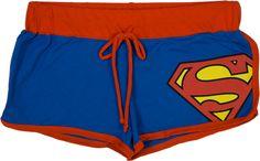 Superman Boy Shorts
