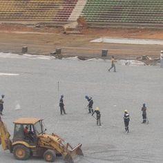 Que ce soit au stade militaire ou aux stades annexes 1 et 2, la pression ne se fait pas ressentir.  Si la pression est visible au stade omnisport de Yaoundé, les stades annexes 1 et 2 ne vive
