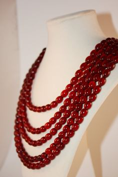 Great fall color necklace!
