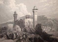 Hebron en Abrahams graf, Palestina