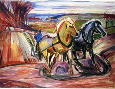 El arado de primavera, 1916