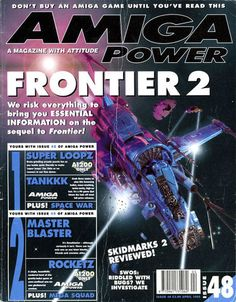 Amiga Power Issue 48 Magazines, Video Games, Bring It On, My Love, Reading, Gaming Wallpapers, Journals, Videogames, Video Game