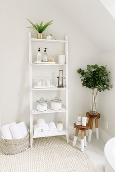 Looking to reorganize your bathroom? We've got you covered! Shop our stores for baskets, jars, shelves, and all the essentials for a perfect reorganizing. #worldmarket #bathroom #organization #HomeDecorSale Diy Bathroom Decor, Bathroom Interior Design, Bathroom Storage, Bathroom Organization, Shelving In Bathroom, Bedroom Storage Shelves, Bathroom Jars, Organized Bathroom, Bathroom Baskets