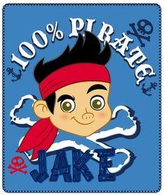 Detská deka so vzorom Pirate Jake