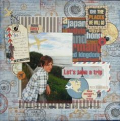 Let's Take a Trip page created with Detour collection for BoBunny Club Kits. Visit http://www.myscrappinshop.com.au/paper-collections/bobunny/bobunny-club-kits.html to find out more. 2012