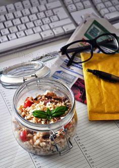 Insalata ai 3 cereali con filetti di sgombro http://tastemoremagazine.blogspot.it/ ©Taste&More Magazine