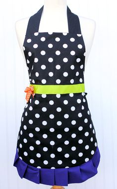Cute and simple witch apron pattern