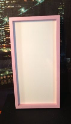 picture frame whiteboard pastel pink on etsy 1499