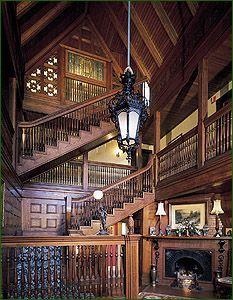 Katie's Blog: Gothic Victorian Interiors/Exteriors