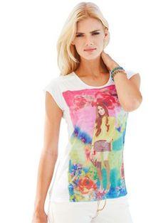 #HeineShoppingliste Shirt mit farbenfrohem Print