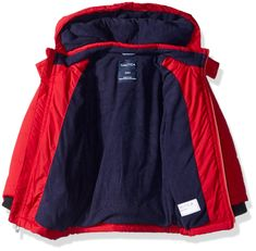 Nautica Baby Boys Signature Puffer Jacket with Storm Cuffs, Arthur Red, 12 Months * Find out more by checking out the image web link. (This is an affiliate link). Baby Boy Jackets, Puffer Jackets, Baby Boys, 12 Months, Baby Shower Gifts, Cuffs, Link, Amazing, Image