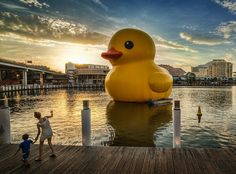 Rubber Duck by Florentijn Hofman