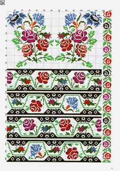 Gallery.ru / Фото #33 - 54 - kento Peyote Patterns, Embroidery Patterns, Stitch Patterns, Cross Stitch Flowers, Alphabet, Projects To Try, Weaving, Crochet, How To Make