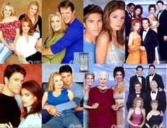 Television Shows / Days of Our Lives Montage with famous families and couples. A Day In Life, Of My Life, Miss The Old Days, Life Cast, Book Tv, Days Of Our Lives, My Escape, Favorite Tv Shows, Favorite Things