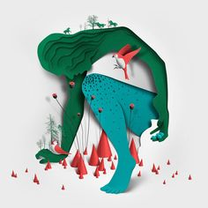 Eiko Ojala is a renowned illustrator and graphic designer. Eiko Ojala lives in Tallinn, Estonia. He works mostly digitally and draws everything by hand. Art And Illustration, Art Illustrations, Website Illustration, Graphic Design Trends, Web Design, Graphic Design Inspiration, Grid Design, Image Clipart, Art Clipart