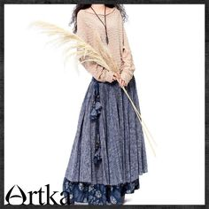 Pastoral style outfit by Artka Design.