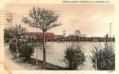 vintage ~ Cannon Mills Lake, NC