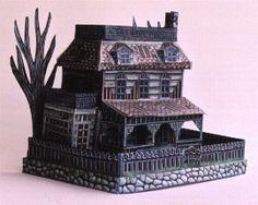 RavensBlight Manor - 1 - free paper art
