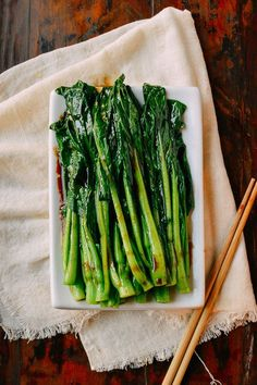 This easy yu choy recipe is a healthy, tasty side dish that's been in our family's weekly rotation for years. It's the perfect accompaniment to any meal!