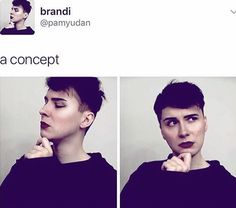 Seriously though, he would look so good with makeup