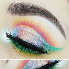 WEBSTA @ meltcosmetics - @4mandaleen wearing AMELIE shadow in the center of her…