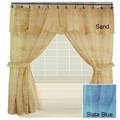 White Lace Swag Curtains | Lace Swag Curtains | Hanging Beauty