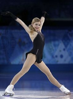 US Gracie Gold performs at the Figure Skating Exhibition Gala at the Iceberg Skating Palace during the Sochi Winter Olympics on February Get premium, high resolution news photos at Getty Images Gracie Gold, Teen Star, Figure Ice Skates, Ice Girls, Ice Skaters, Ice Dance, Figure Skating Dresses, Winter Olympics, Female Athletes