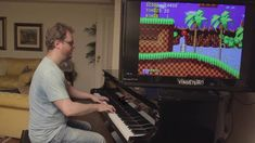 Playing the whole soundtrack to Sonic the Hedgehog on piano #gaming #games #gamer #videogames #videogame #anime #video #Funny #xbox #nintendo #TVGM #surprise